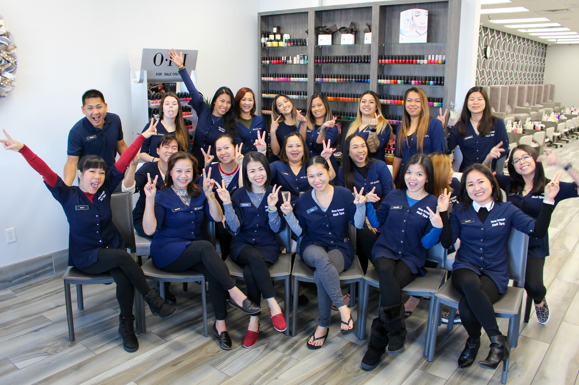 New Image Nail Spa Staff