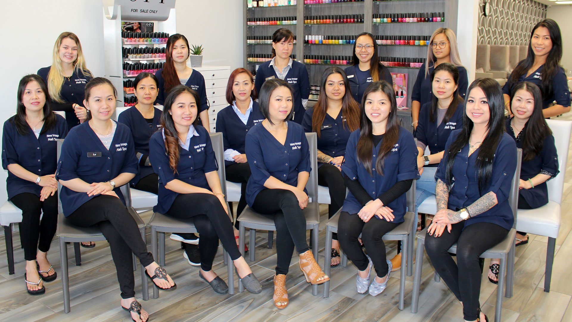 St. Petersburg Nail Salon Staff